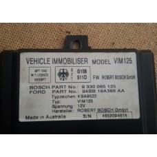 Блок управления иммобилайзера VIM125 Ford 94BB19A366AA; Bosch 9330065125 (Ford Mondeo I)