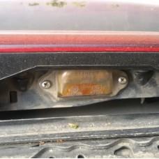 Подсветка номера Mazda 626